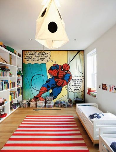 Awesome Superhero Themed Room Design Ideas 36