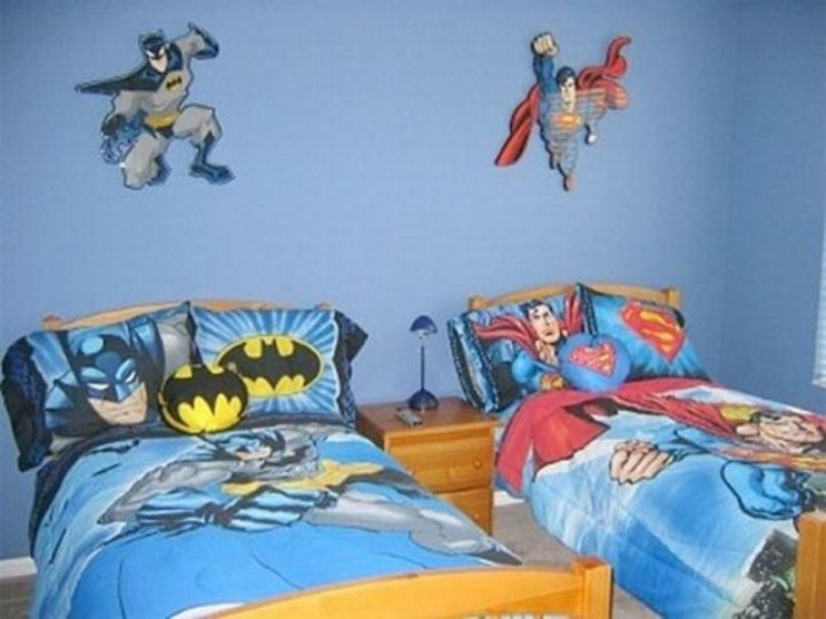 Awesome Superhero Themed Room Design Ideas 40
