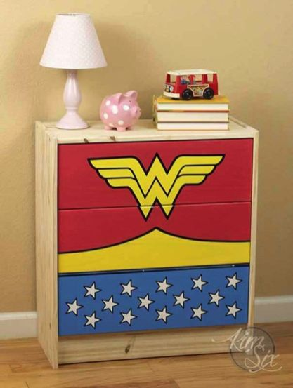 Awesome Superhero Themed Room Design Ideas 41