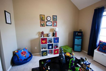 Awesome Superhero Themed Room Design Ideas 44