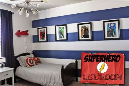 Awesome Superhero Themed Room Design Ideas 45
