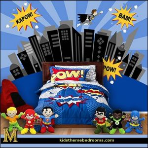 Awesome Superhero Themed Room Design Ideas 48