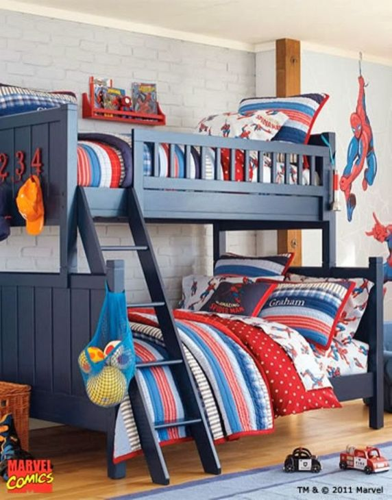 Awesome Superhero Themed Room Design Ideas 49