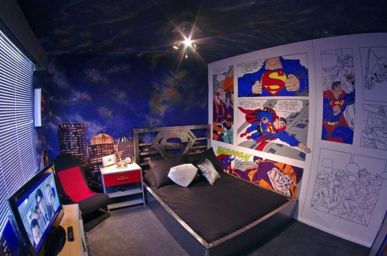 Awesome Superhero Themed Room Design Ideas 54