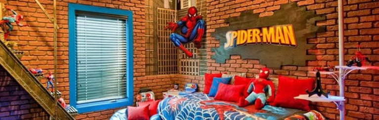 Awesome Superhero Themed Room Design Ideas Featured