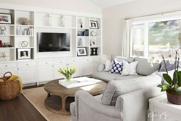 Cool Family Friendly Living Rooms Design Ideas 16