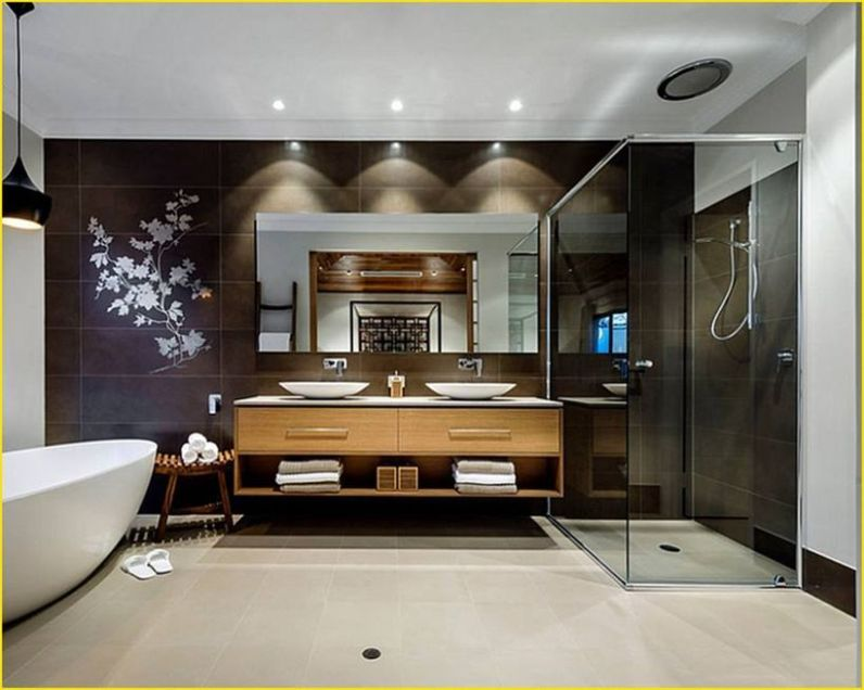Cozy Wooden Bathroom Designs Ideas 1
