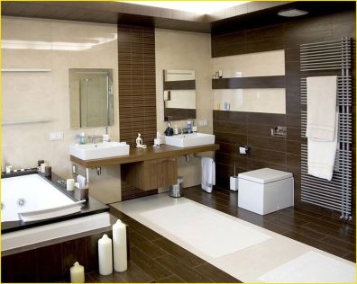 Cozy Wooden Bathroom Designs Ideas 18