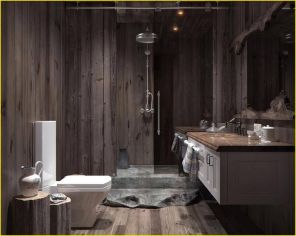 Cozy Wooden Bathroom Designs Ideas 23