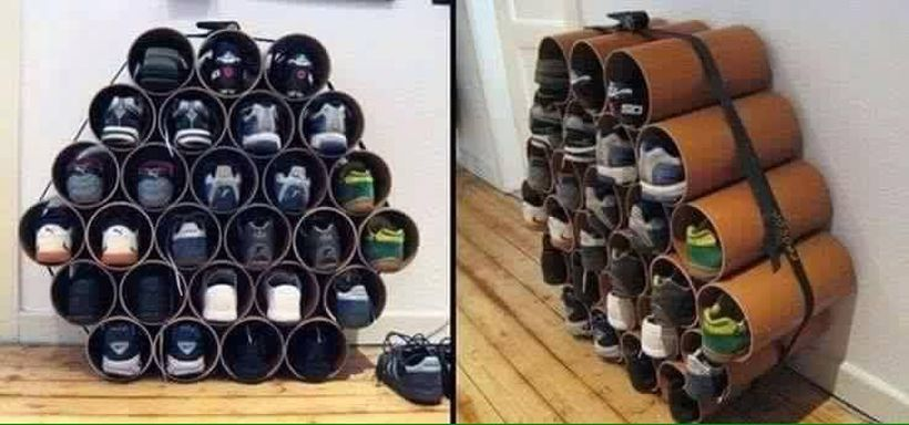 Creative Ideas To Organize Shoes In Your Home 27