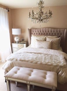 Romantic Dream Master Bedroom Design Ideas 14