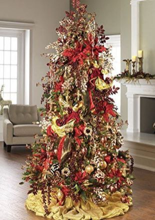 Gorgeous Chirstmas Tree Decorations Ideas 2019 16