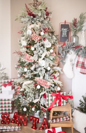 Gorgeous Chirstmas Tree Decorations Ideas 2019 4