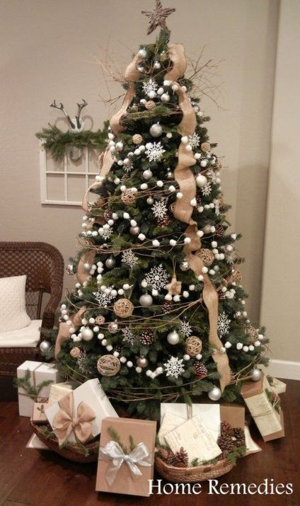 Gorgeous Chirstmas Tree Decorations Ideas 2019 45