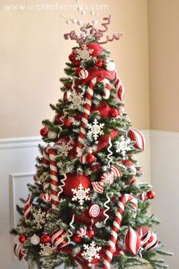 Gorgeous Chirstmas Tree Decorations Ideas 2019 48