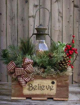 Amazing Christmas Porch Ornament And Decorations 46