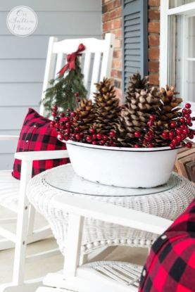 Amazing Christmas Porch Ornament And Decorations 48