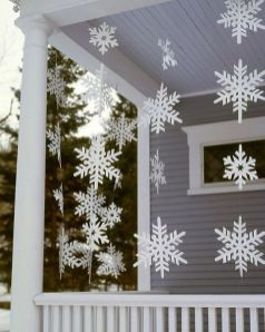 Amazing Christmas Porch Ornament And Decorations 67