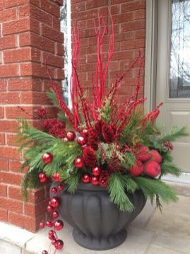 Amazing Christmas Porch Ornament And Decorations 85