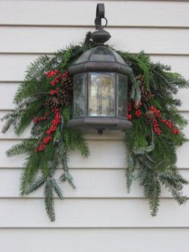 Amazing Christmas Porch Ornament And Decorations 86