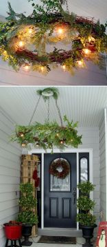 Amazing Christmas Porch Ornament And Decorations 89