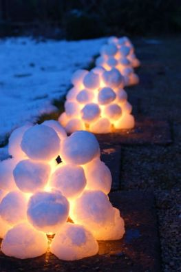 Creative Fake Snow Ideas For Chirstmas Decorations 22