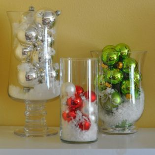 Creative Fake Snow Ideas For Chirstmas Decorations 4