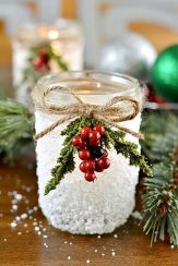 Creative Fake Snow Ideas For Chirstmas Decorations 43