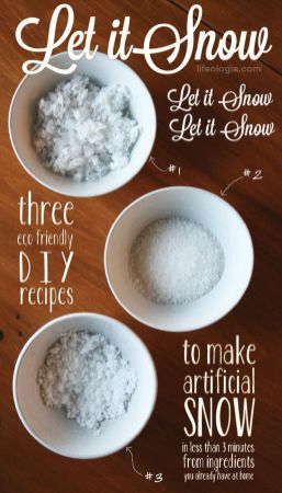 Creative Fake Snow Ideas For Chirstmas Decorations 47