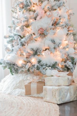 Creative Fake Snow Ideas For Chirstmas Decorations 49