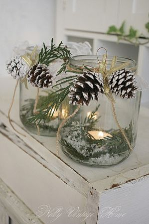 Creative Fake Snow Ideas For Chirstmas Decorations 50