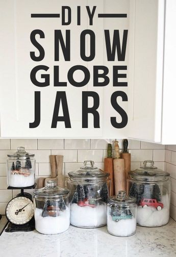 Creative Fake Snow Ideas For Chirstmas Decorations 58