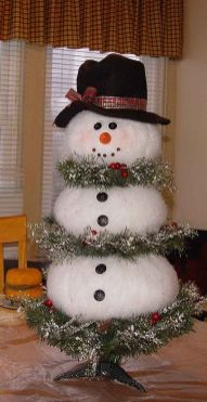 Creative Fake Snow Ideas For Chirstmas Decorations 86