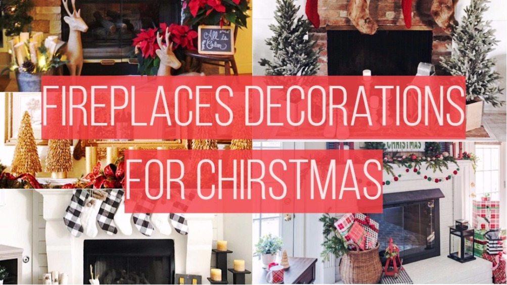 Fireplaces Decorations For Christmas