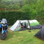 Camping 'Les Fougères' à Murol