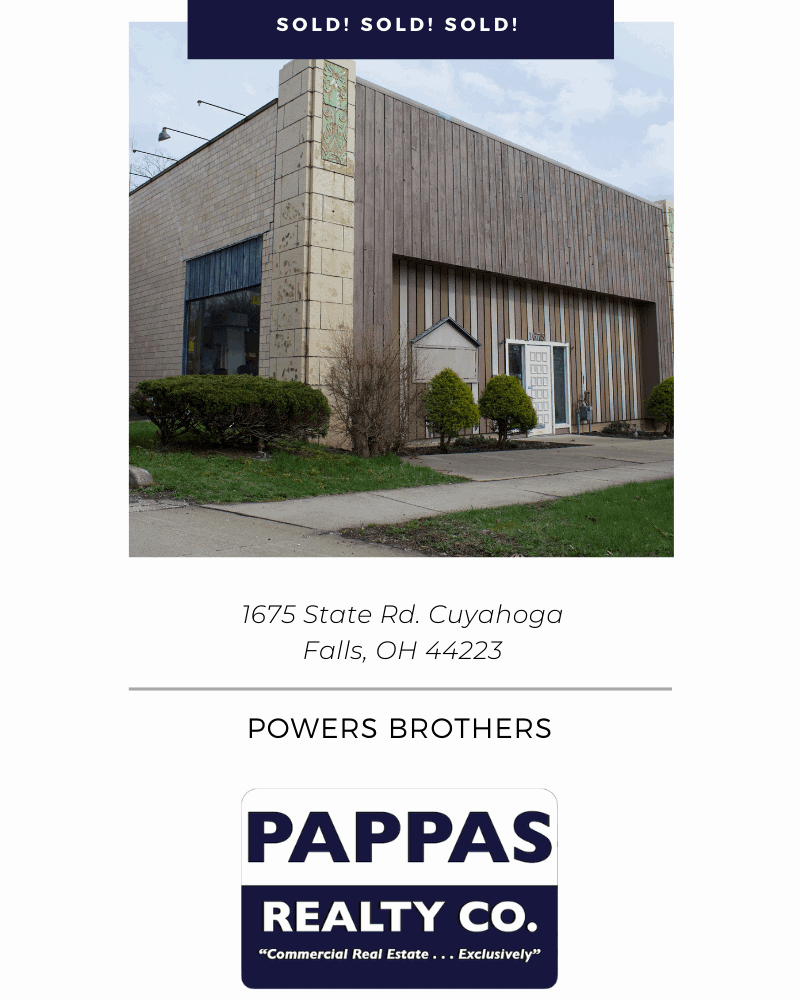 Pappas Realty Co. Sells 1675 State Rd. Cuyahoga Falls, OH 44223