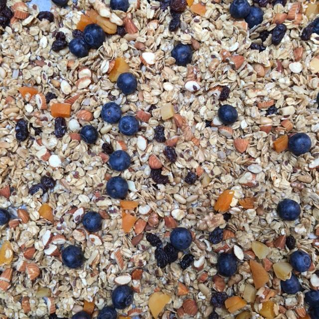 hjemmelaget glutenfri granola