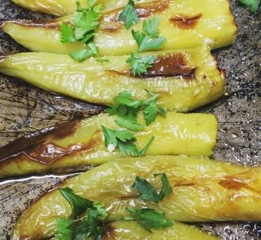 Paprika fylt med feta