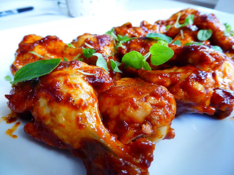 Spicy kyllingklubber