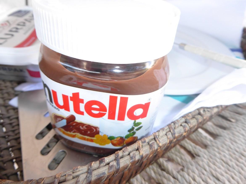 Glutenfri crepe med Nutella