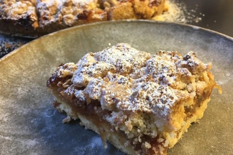 Glutenfri eplekake med crust