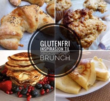 Tips til en glutenfri søndagsfrokost/brunsj?