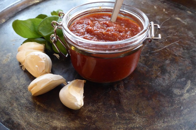 Fyldig tomatsaus med en smak av Italia