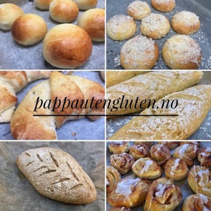 våre beste glutenfrie bakeoppskrifter