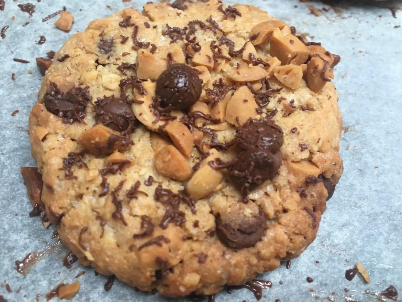 Glutenfrie sjokolade/peanøttkjeks
