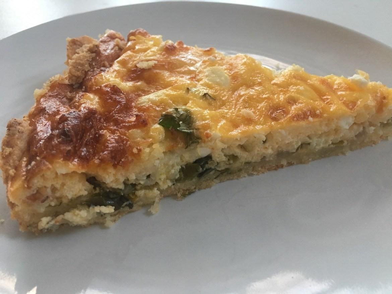 glutenfrie pai med spinat og feta