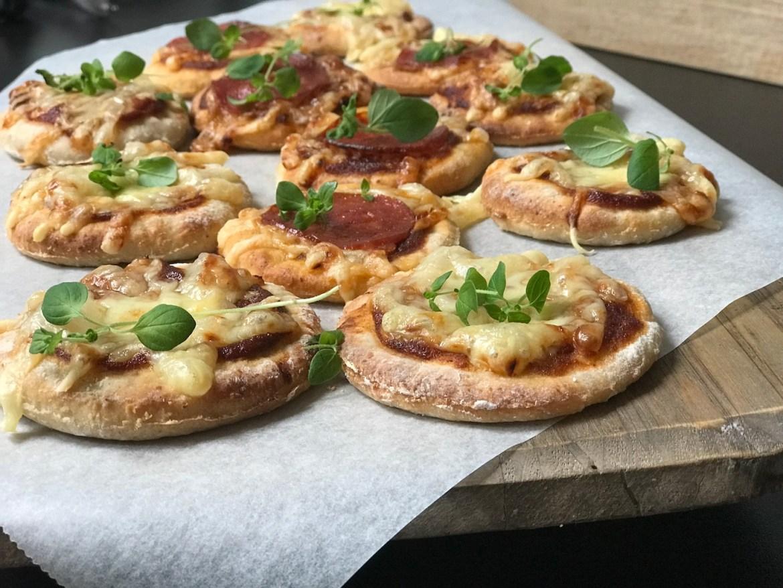 Glutenfri porsjonspizza