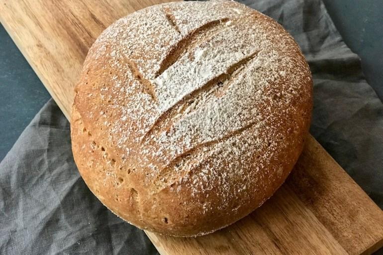 Glutenfritt fiberbrød