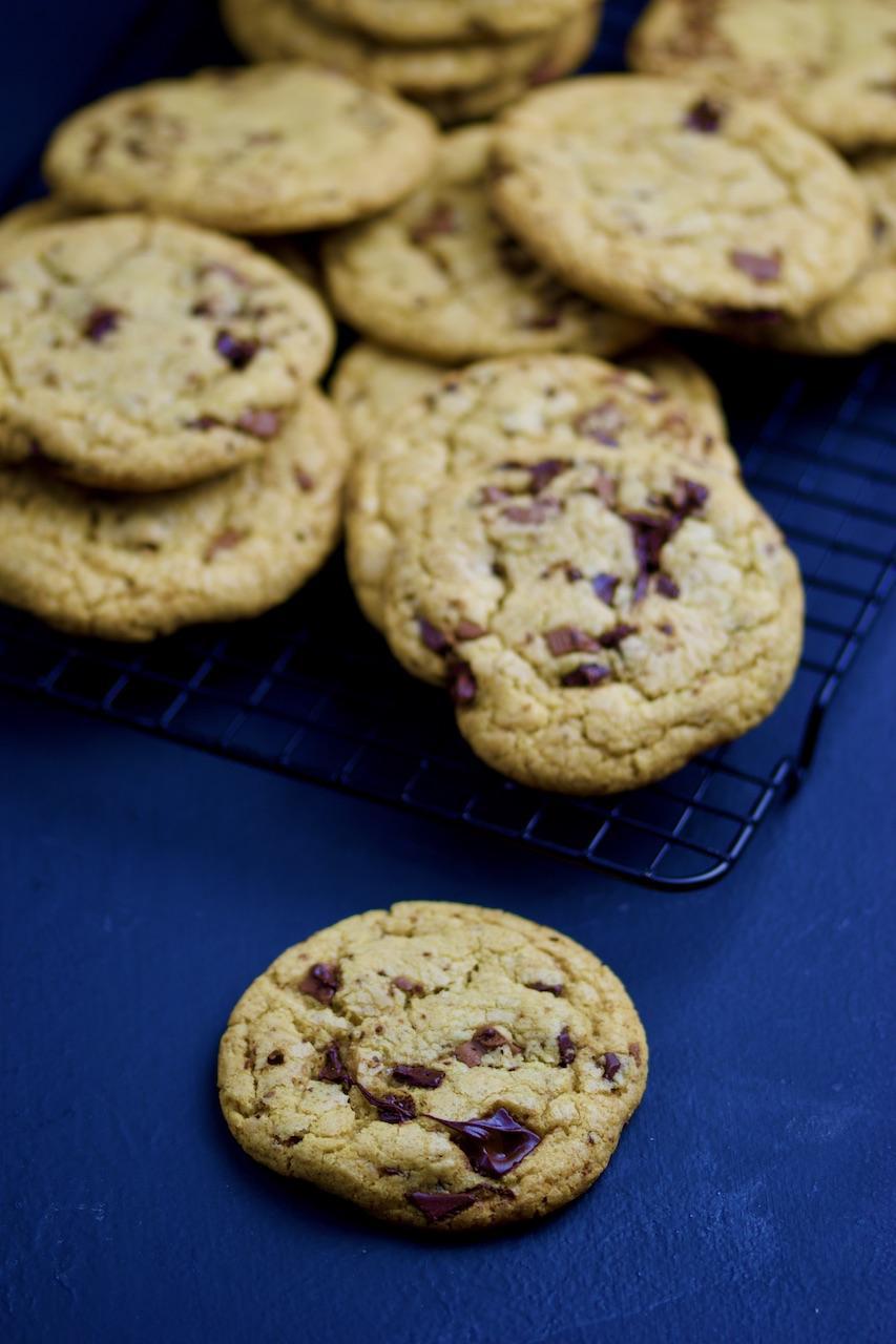 glutenfrie chocolate chip cookies