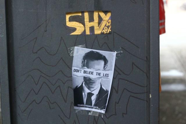 I believe in Sherlock, taken in Berlin (Photo: Morten Skogly)